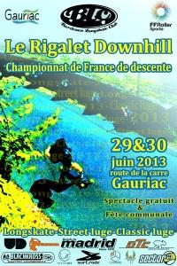 Affiche Rigalet Downhill copie 2